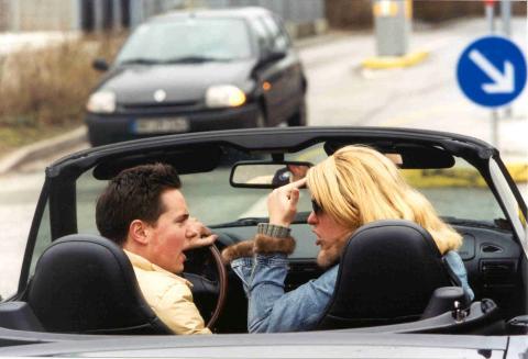 Gefährlicher Streit im Auto