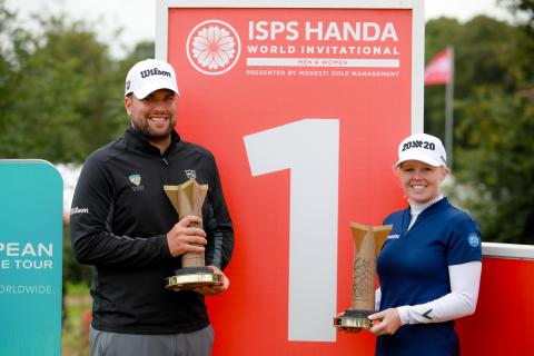 Meadow and Senior Secure ISPS Handa World Invitational glory