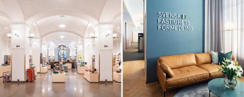 Från Nationalmuseum till Svensk Fastighetsförmedlings butiker