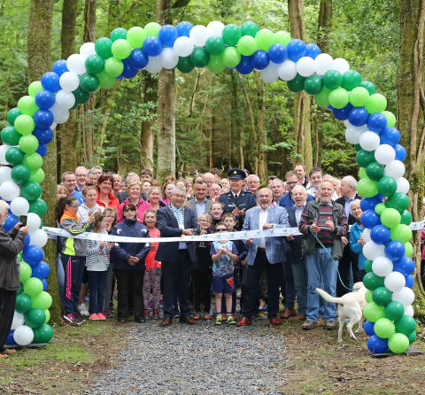 Community footpath opening