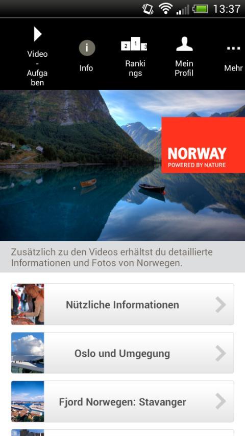 Schon 2015 hat Visit Norway eine neue App und ein e-Learning-Programm für die Reisebranche gelauncht