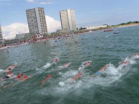 Ostseeschwimmen Fehmarn