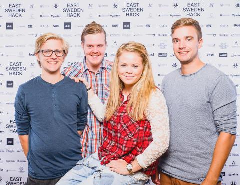 GÅ2.0 vann Est Sweden Hack