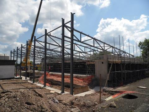 Uttoxeter Leisure Centre Redevelopment Project Continues at Pace