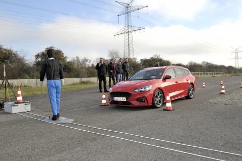 Focus Crash test
