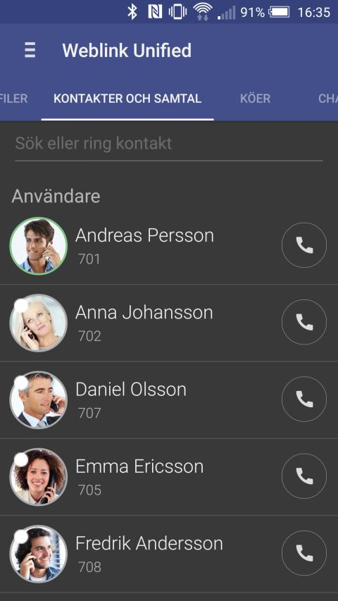 Hämta app för android