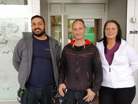 Stockholmshems team i Skärholmen