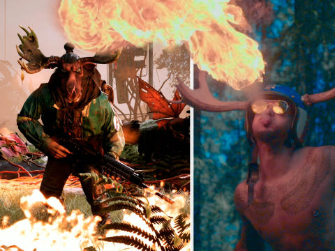 A fire breathing moose? Funcom releases a steaming hot video featuring the new Mutant Year Zero hero