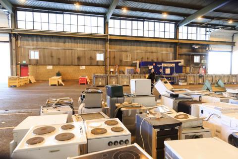 Stölder på återvinningscentraler ett dubbelt problem