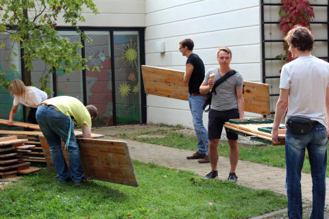 Tag der offenen Tür im Kinderhospiz: Bärenherz-Sommerfest lockt 1.000 Besucher in den Kees'schen Park