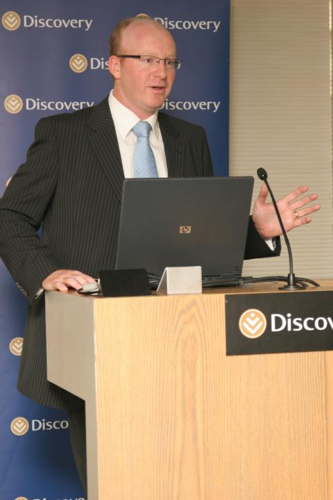 Dr Craig Nossel , Head of Vitality Wellness,  Discovery