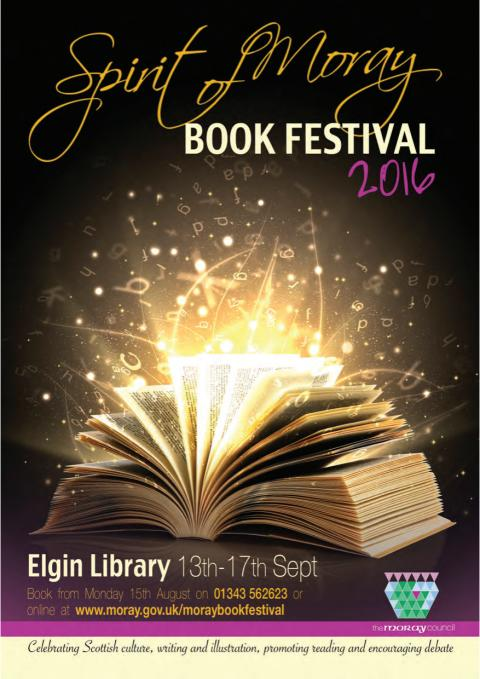 Spirit of Moray Book Festival 2016