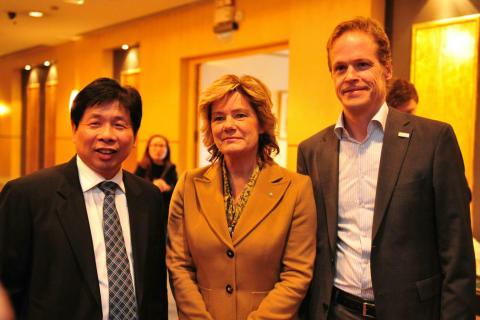 Bactiguard medverkade på Minister Maria Larssons framgångsrika delegationsresa i Kina