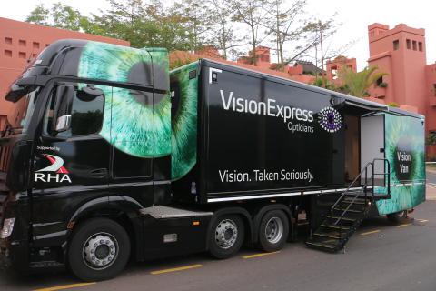 Vision Express showcases new Vision Van at global group conference