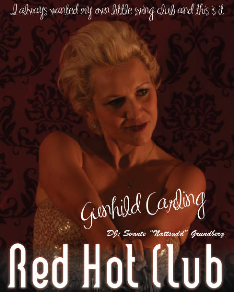 Gunhild Carlings egna Swing Klubb RED HOT CLUB med Gunhild Carling Trio