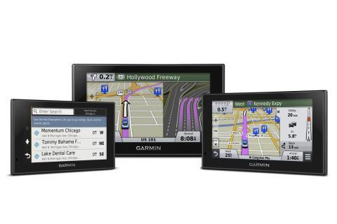 Garmin® nüvi® Advanced – med Foresquare®,  Direct Access och skärm med multitouch