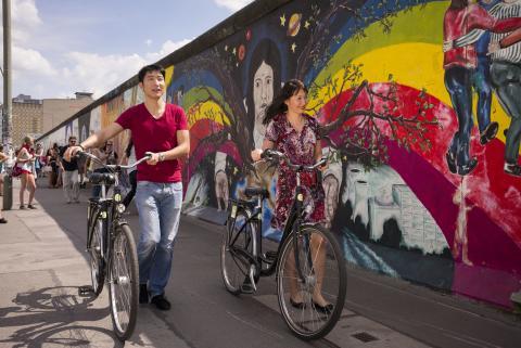 Murens fald har sat Tysklands-turisme i højeste gear