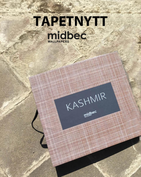 Ny tapetkollektion - Kashmir