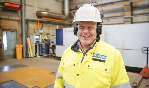 Tibnor investoi Seinäjoella miljoonan tehokkaaseen laserleikkuriin