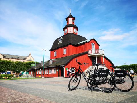 Hyrcyklar i Lidköping Rådhuset