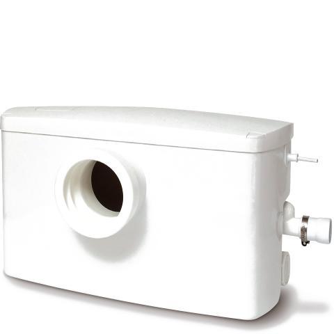 Nya Minilift F - Kompakt toalettpumpstation