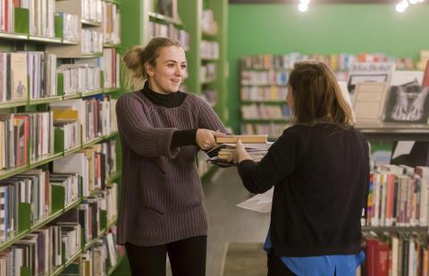Leseglade oslofolk låner flere bøker