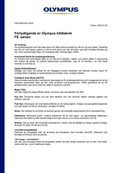 Olympus Bildteknik FE -serien_Bilaga.pdf
