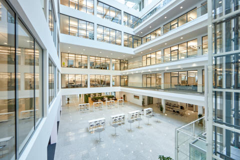 The Bad Pyrmont showpiece: the new Phoenix Contact Electronics building is smart