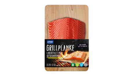 Grillplanke med sitronpepper