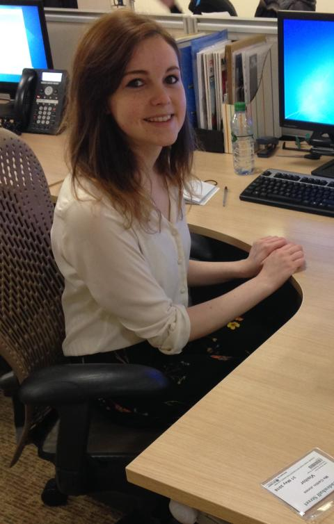 #VolunteersWeek - Caitlin Jones