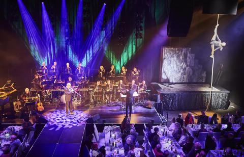 Invigning Sparbanken Blackbox - Nisse Landgren, Bohuslän Big Band och Cirkus Nikolajeff