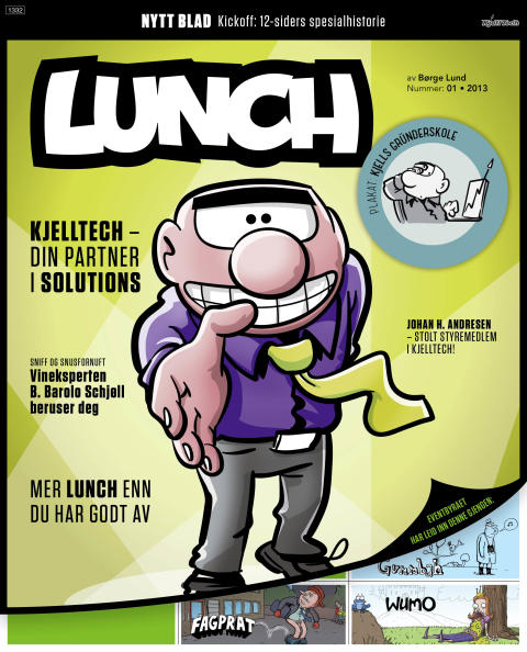 Norsk næringsliv er reddet: Her kommer LUNCH!
