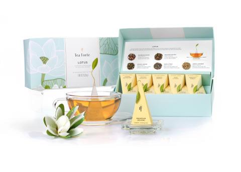 Tea Forté Lotus Collection