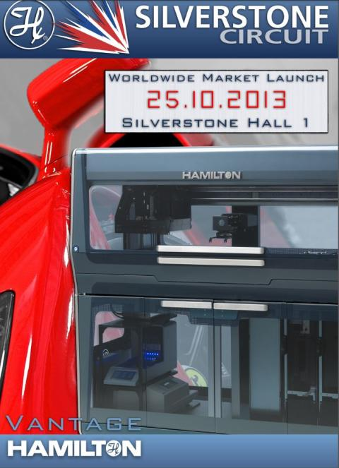 Hamilton Robotics Ltd  - Vantage Launch - 25th October, 2013 at Silverstone