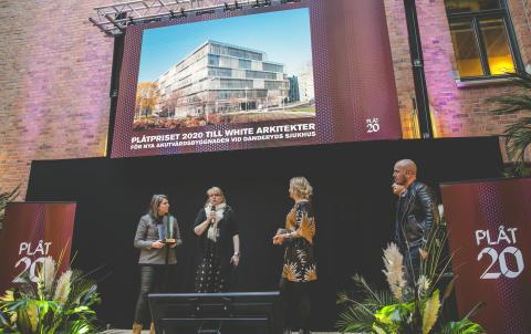 White arkitekter vinnare av PLÅTPRISET 2020