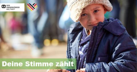 Deine Stimme zählt: Flüchtlingskinder brauchen besseren Schutz / SOS-Kinderdörfer weltweit und SOS-Kinderdorf richten Petition an Bundesregierung