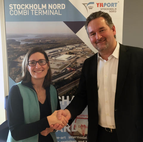 Future secure for Granudden through new agreement between Green Cargo and Yilport