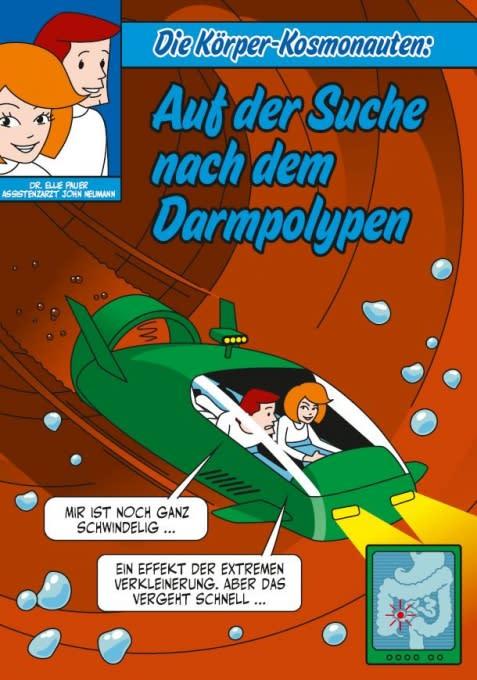 Die Körper Kosmonauten - auf der Suche nach dem Darmpolypen COVER