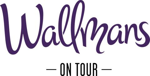 Wallmans on Tour logotype