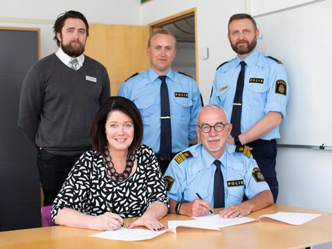 Medborgarlöfte om ökad trygghet i Ryd centrum