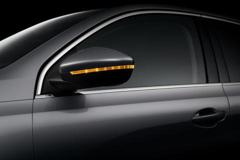 Backspeglarna på nya Peugeot 308