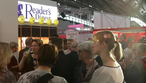 Reader's Digest auf der Frankfurter Buchmesse