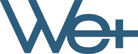 We+ logo
