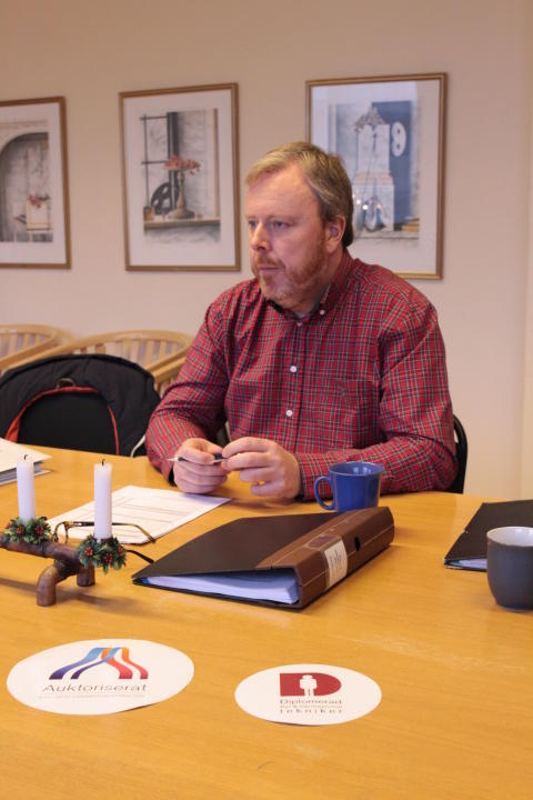 Första revisionen av Auktoriserat Kyl & Värmepumpföretag