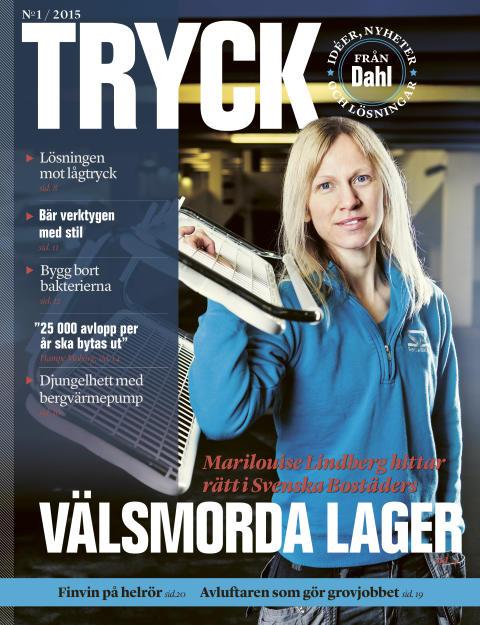 Nytt nummer av TRYCK, kundtidningen från Dahl Sverige AB, finns att hämta i butik