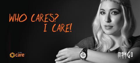 Margaret Berger for Mango Time i samarbeid med CARE