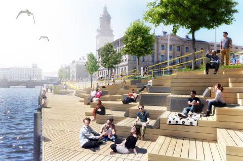 Stora Hamnkanalen blir musikscen under Kulturkalaset