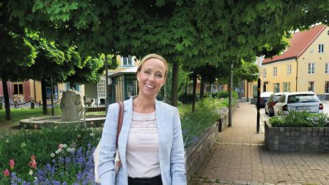 Sanna Persson, besöks- och näringslivsutvecklare Sölvesborgs kommun RGB