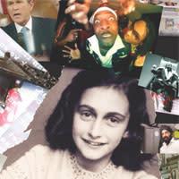 Pressvisning av utställningen Anne Frank & Jag