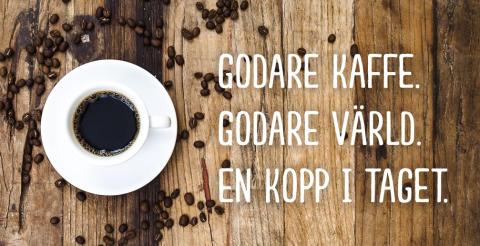 Sverige har fått sin första folkägda kaffekedja